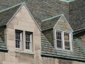 gabled dormer windows